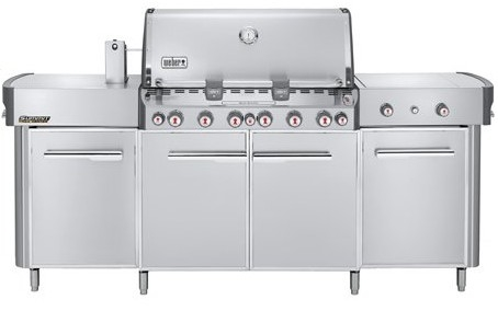 Weber Summit Grill Center Natural Gas Stainless Steel - 292001